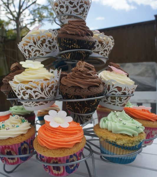 Cup cake display