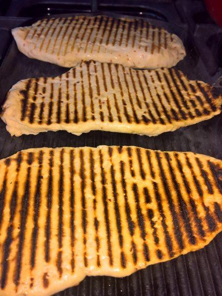 making flatbread