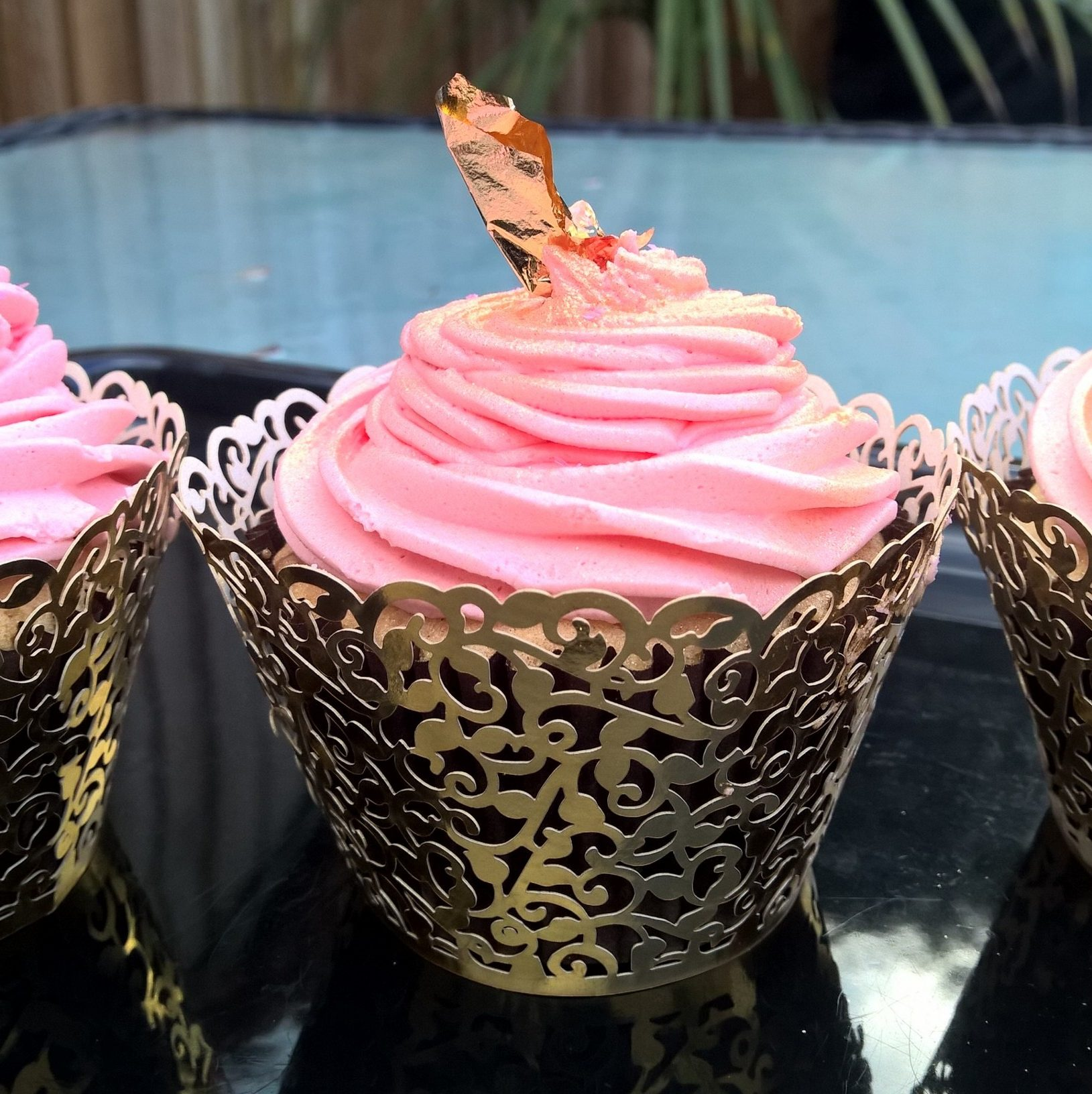 Candy cupcakes